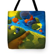Dancing Shadows Tote Bag
