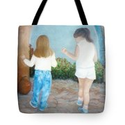 Dancing Sisters Tote Bag