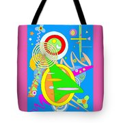 Dancing Spirals 2 Tote Bag