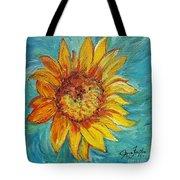 Dancing Sunflower  Tote Bag