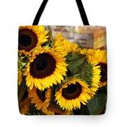 Dancing Sunflowers Tote Bag