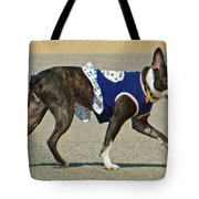 Dancing The Two Step At The Tidal Basin Tote Bag