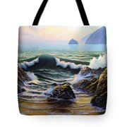 Dancing Tide Tote Bag