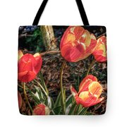 Dancing Tulips Tote Bag