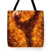 Dancing Twist - Palette Knife Oil Painting On Canvas By Leonid Afremov Tote Bag