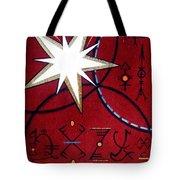 Magical Star And Symbols. Part 1 Tote Bag