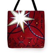 Magical Star And Symbols. Part 1 Tote Bag