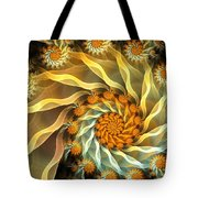 Dancing With Daisies Tote Bag