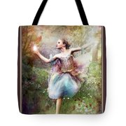 Dancing With The Light Tote Bag