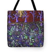 Dancing With The Trees Tote Bag