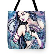 Dancing With The Waves Tote Bag