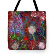 Dandelion Clocks Tote Bag