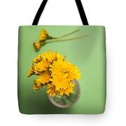Dandelion Flower Clippings Tote Bag