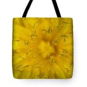Dandelion Flower Macro Tote Bag
