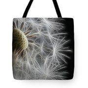 Dandelion Frost Tote Bag