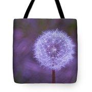 Dandelion Geometry Tote Bag