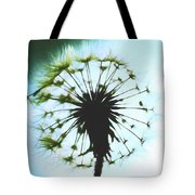 Dandelion Halo Tote Bag