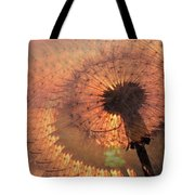 Dandelion Illusion Tote Bag