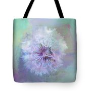 Dandelion In Pastel Tote Bag