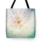 Dandelion In Winter Tote Bag