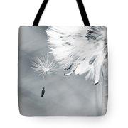 Dandelion Macro Make A Wish Tote Bag