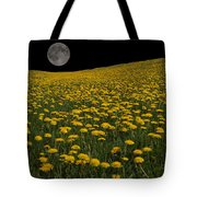 Dandelion Moon Tote Bag