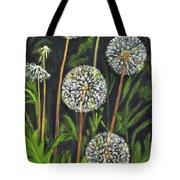 Dandelion Puff Tote Bag