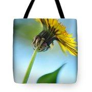 Dandelion Reaching High Tote Bag