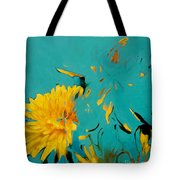 Dandelion Summer Tote Bag
