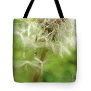 Dandelion Wish 7 Tote Bag