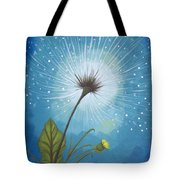 Dandy Dandelion Tote Bag