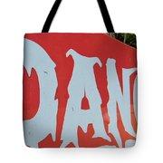 Danger - Global Warming Tote Bag