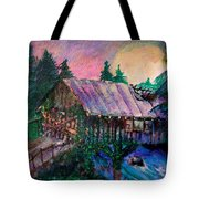 Dangerous Bridge Tote Bag