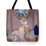 Dangerous Liaisons Tote Bag by Georges Barbier