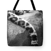 Dangling And Dozing In Black And White Tote Bag