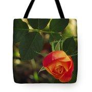 Dangling Rose Tote Bag