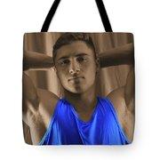 Daniel Blue Shirt Tote Bag