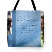 Daniel Chappie James Jr Tote Bag