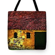 Danish Barn Watercolor Version Tote Bag by Steve Harrington