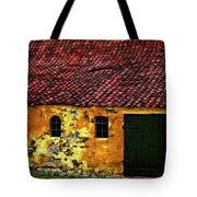 Danish Barn Watercolor Version Tote Bag
