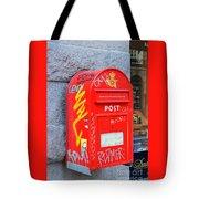 Danish Mailbox Tote Bag