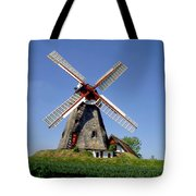 Danish Windmill Tote Bag