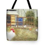 Dan's Chickens Tote Bag