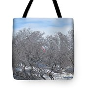 Dans Le Vent / In The Wind Tote Bag