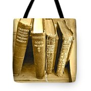Dante God And Shakespeare ... Tote Bag