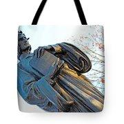 Dante In Meridian Hill Park Tote Bag