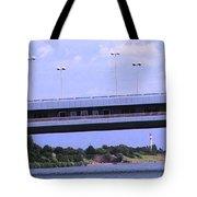 Danube River Bridges Tote Bag
