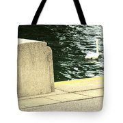 Danube River Swan Tote Bag
