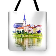 Danube Village Tote Bag