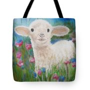 Flying Lamb Productions     Daphne Star In The Tall Grass Tote Bag